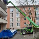 Entkernung Wohnblöcke Große Scharnstraße